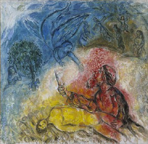 Marc Chagall, Binding of Isaac